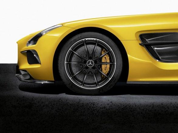 Mercedes SLS AMG Coupé Wheel