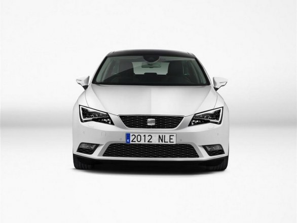 Seat Leon Front View