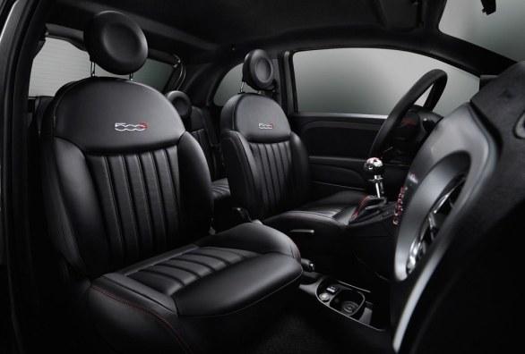 Fiat 500s Interior