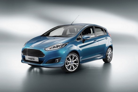 Ford Fiesta 2013 front view