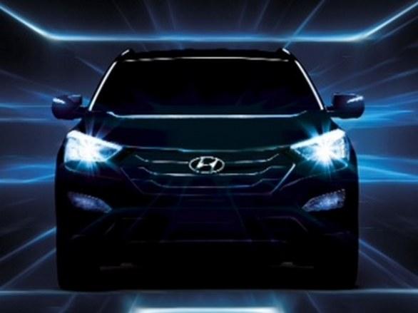 Hyundai Santa Fe Front View
