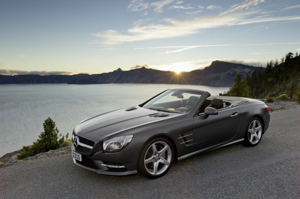 Mercedes SL Side View
