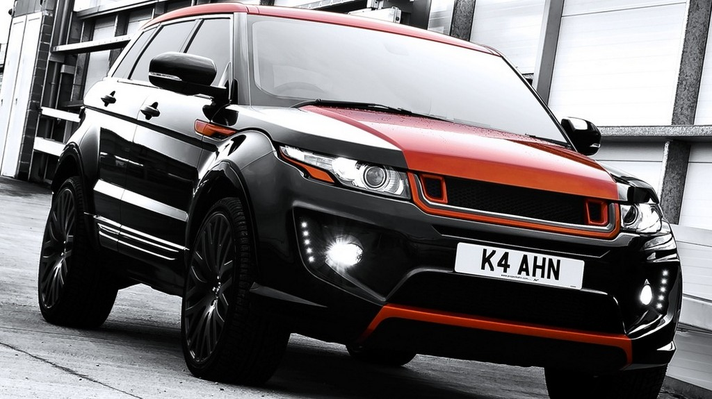 Range Rover Evoque RS250 Vesuvius Edition by Kahn Design
