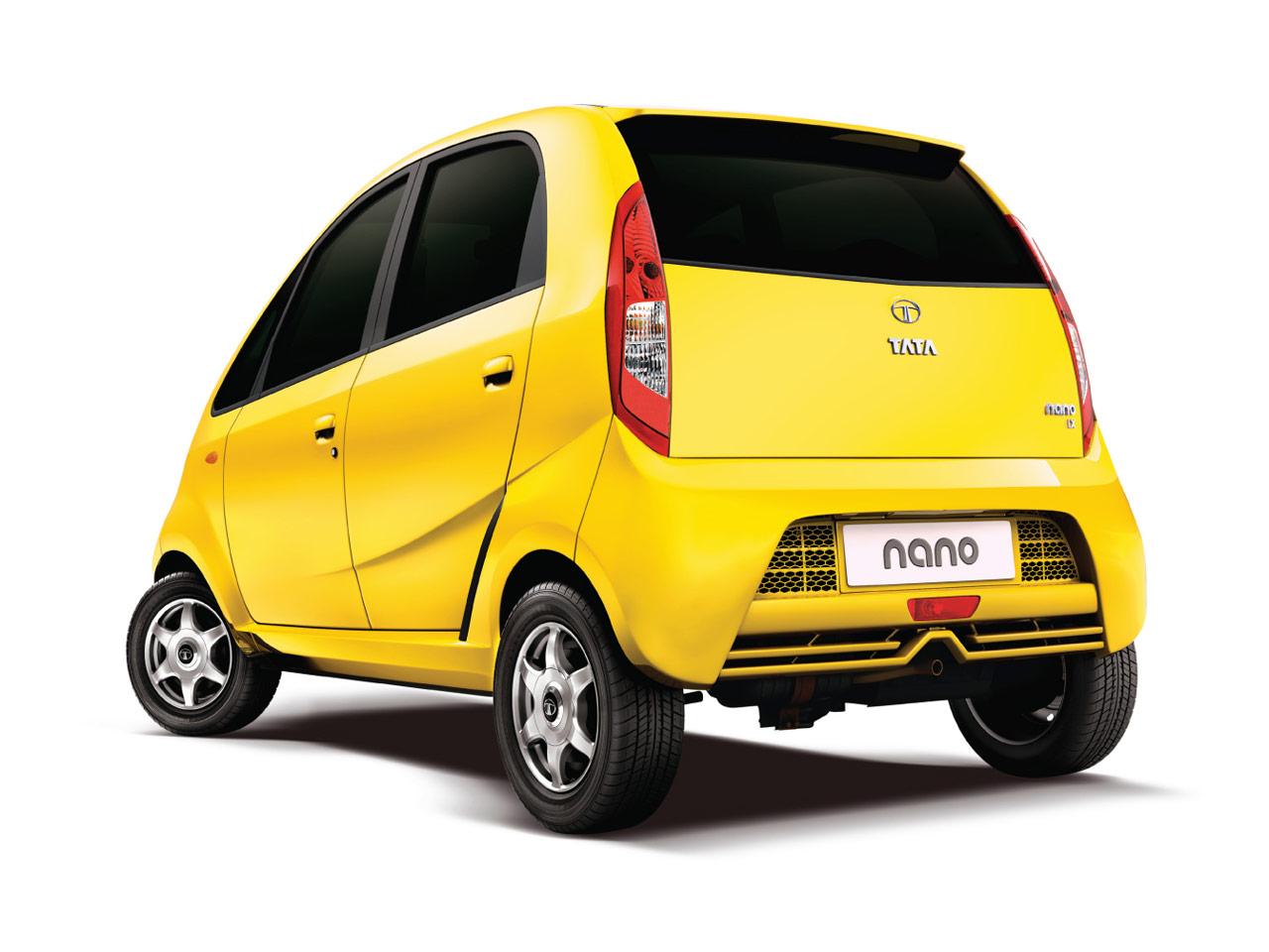 Tata Nano Rear View