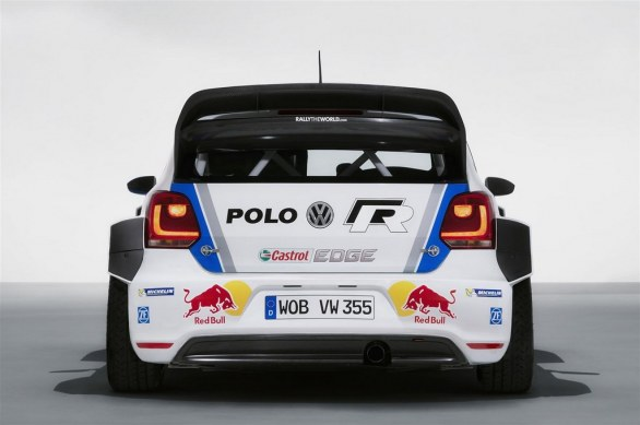 Volkswagen Polo R WRC Rear View