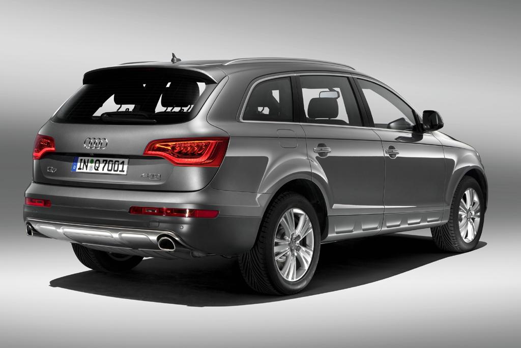 Audi Q7 Rear View