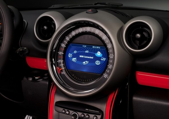 Mini Countryman Dashboard