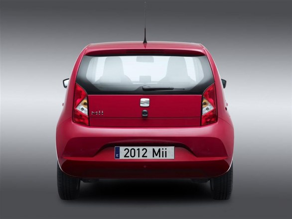 Seat Mii Rear View