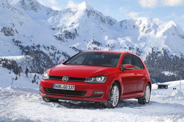 Volkswagen Golf 4Motion Front View