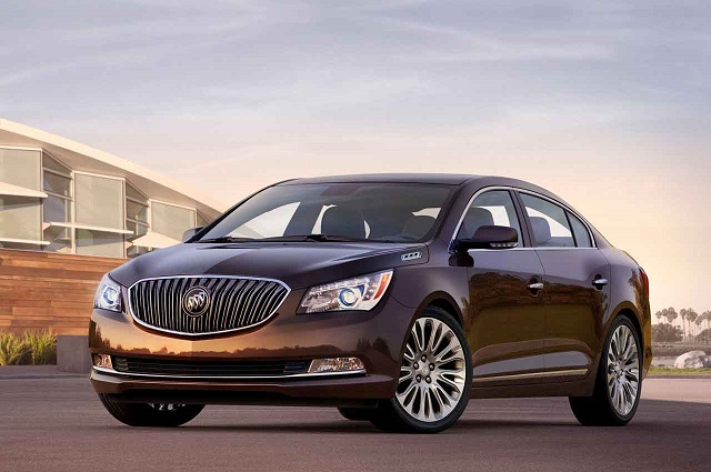 Buick LaCrosse 2013 front