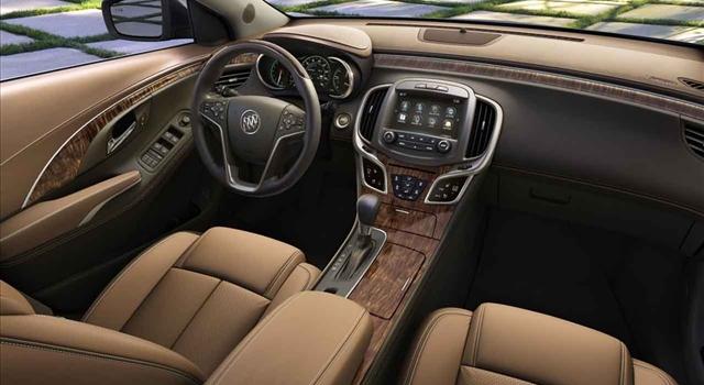 Buick LaCrosse 2013 interior