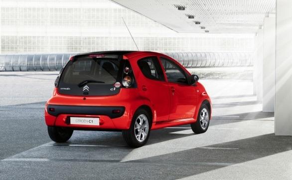 Citroën C1 Vanity Fair rear