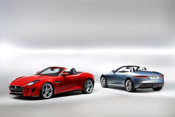Jaguar F-Type double color