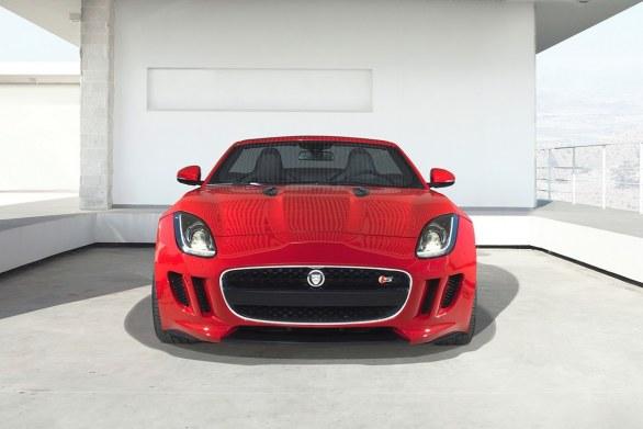 Jaguar F-Type front view