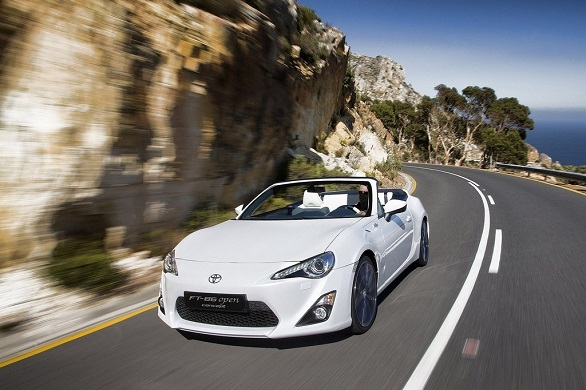 Toyota GT 86 Open Concept front