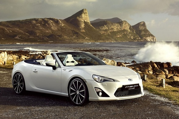 Toyota GT 86 Open Concept side