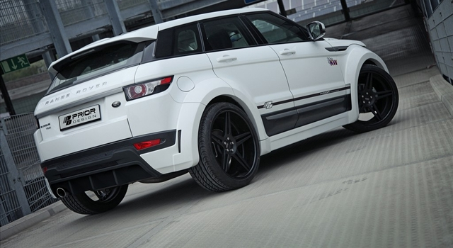 Range Rover Evoque PD650 Side View