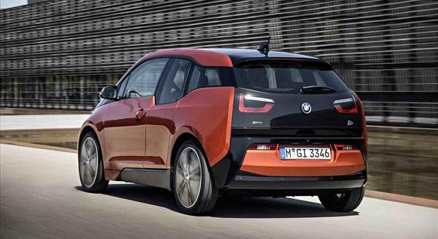 BMW i3 rear view