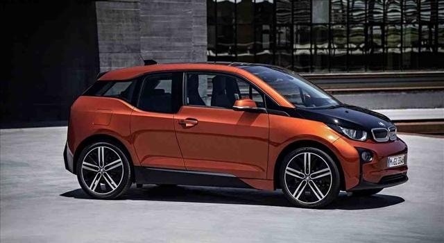 BMW i3 side view