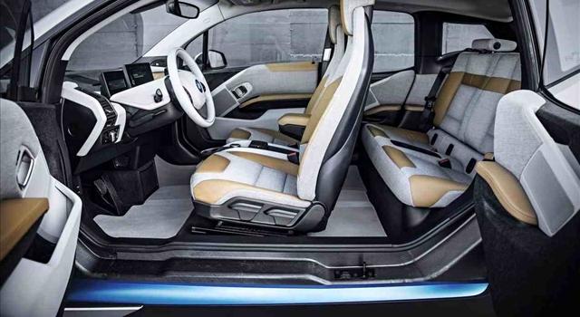 BMW i3 space
