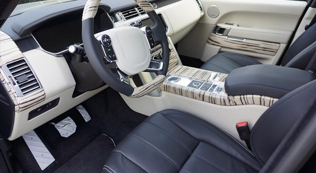 Range Rover 2013 by Mansory Interior