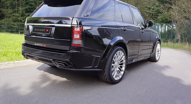 Range Rover 2013 by Mansory Rear View