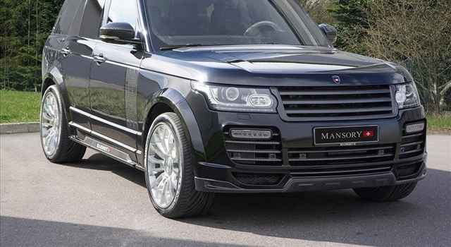 Range Rover 2013 by Mansory
