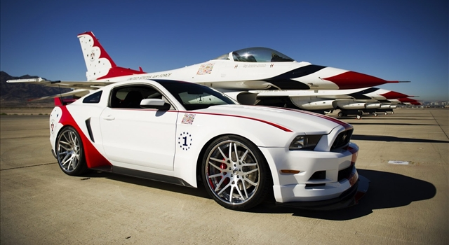 Ford Mustang GT US Air Force Thunderbirds