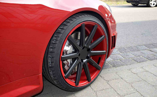 Mercedes SLK 55 AMG wheels