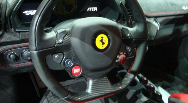 Ferrari 458 Special Dashboard