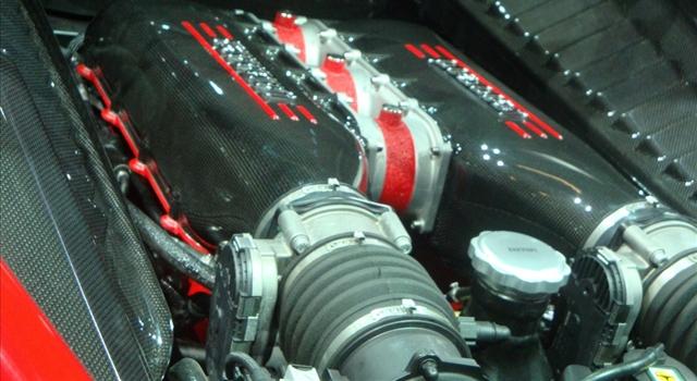 Ferrari 458 Special Engine