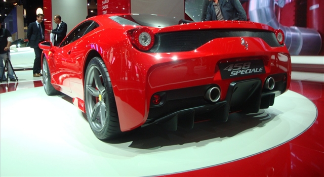 Ferrari 458 Special Rear View