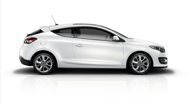 Renault Megane Side View