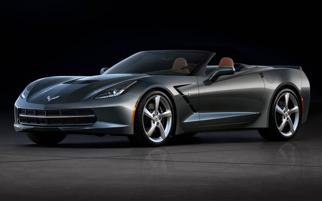 Corvette Stingray AeroWagon front view