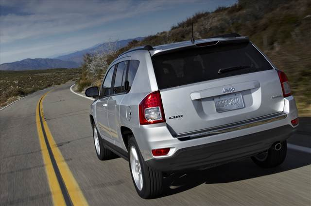 Jeep Compass Model Year 2011 Rear View