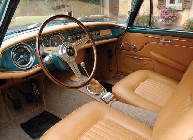 Maserati A6G54 Zagato, Interior