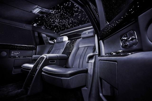 Rolls-Royce, Celestial Phantom interior