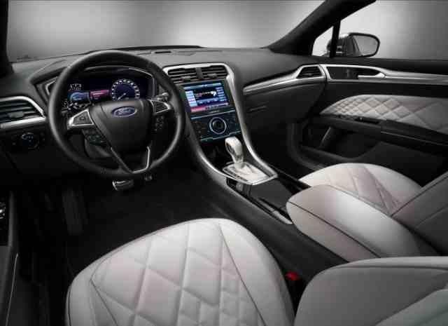 Ford Vignale, Interior