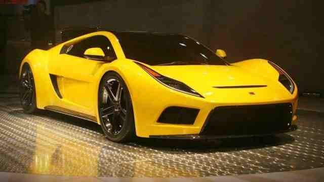 Saleen supercar