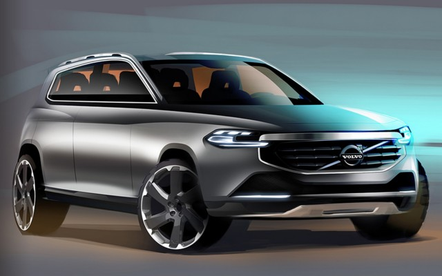 Volvo XC90 about to arrive