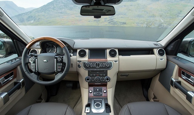 Land Rover Discovery 2014 interior