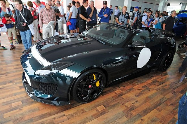 F-Type Project 7 in Goodwood Festivalof Speed