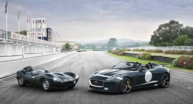 F-Type Project 7 and D-Type