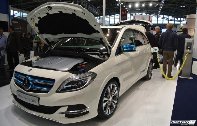 eCarTec Munich 2013: Mercedes-Benz B-class Electric Drive