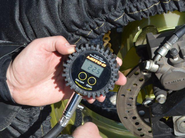 MOTO-D Motorcycle Tire Pressure Gauge